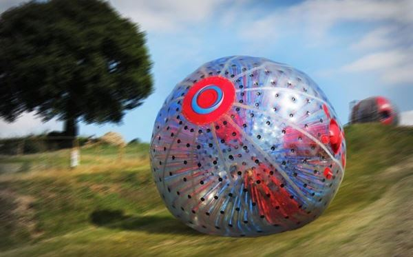 Aqua Zorbing for Two at London South Extremedays Experience 1