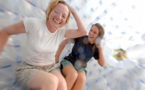 Aqua Zorbing for Two at London South Extremedays Experience 2