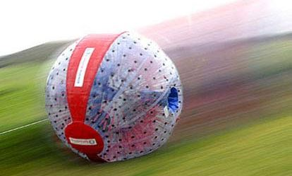 Harness Zorbing for Two Extremedays Experience 1