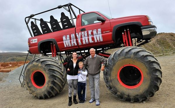 Monster Truck Ride for One Extremedays Experience 3