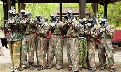 Teen Paintballing for Two Extremedays Experience 1