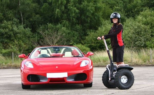 Two Supercar Drive and Off Road Segway Day Extremedays Experience 2