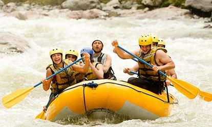 White Water Rafting for 6 People Extremedays Experience 1