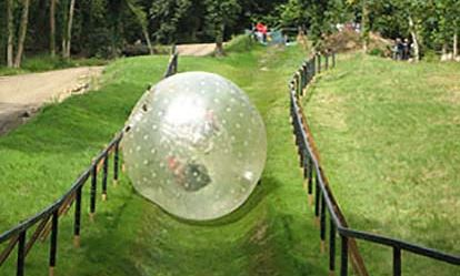 Zorbing and Paintball Combo for Two Extremedays Experience 1