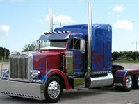 Optimus Prime American Truck Driving Experience